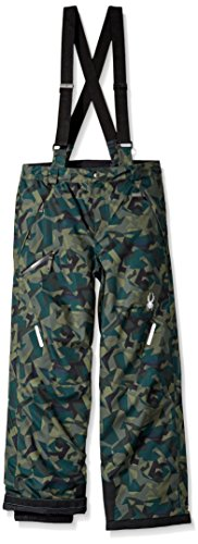 Spyder Boy's Propulsion Ski Pant, Mini Guard Camo, Size 16 by Spyder