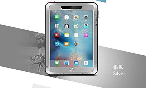 iPad Pro 9.7 Case - CGJY Heavy Duty Aluminum Metal Double...