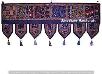 Indian Toran Ethnic Door Valance Vintage Wall Window Decor Hanging Home Decor