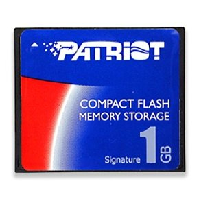 1GB Patriot Signature Line Compact flash Card