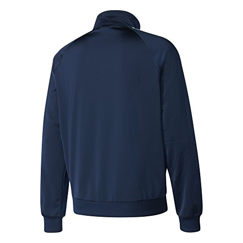 adidas Men's Essentials 3-Stripe Tricot Track Jacket, Collegiate Navy/White, Small by adidas (Image #5)