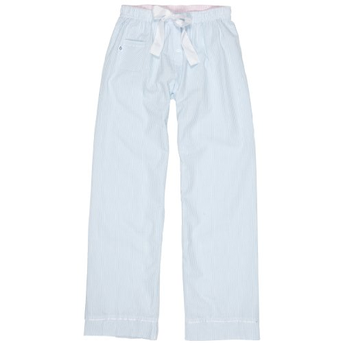 Boxercraft Seersucker Casual Pant, Pajama Bottom, Adult Sizes, Set Sail Blue Large