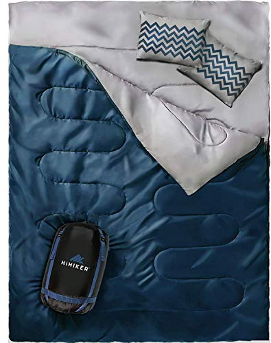 HiHiker Double Sleeping Bag Queen Size XL