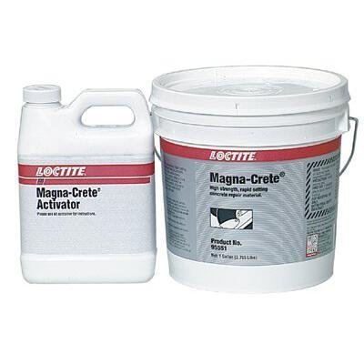Loctite 442-235572 Fixmaster Magna-Crete Flooring & Grouts 1 gal. Kit by Loctite