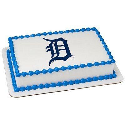Detroit Tigers Licensed Edible Cake Topper #42536 ()