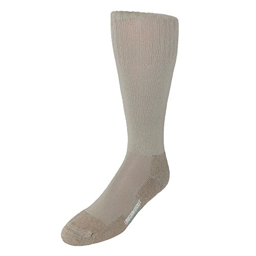 Jefferies Socks Men's Cotton Uniform Blister Guard Boot Socks, (Blister Guard Socks)