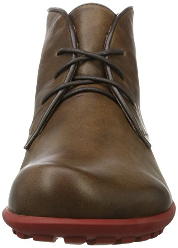 Think Kong, Stivali Desert Boots Uomo Marrone (Espresso/Kombi 42)