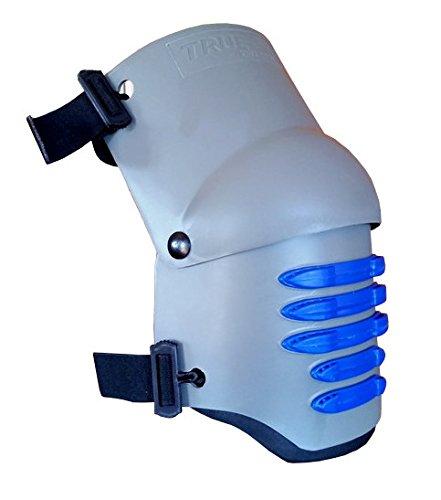 TSE Safety TSE-TFLX2.0-GEL Knee Pad, One Size, Grey with Blue Grip Strips