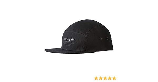 85b4da41287db adidas Originals NMD Cap Running 5-Panel Black Black BR4685 at Amazon Men s  Clothing store