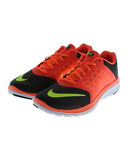 Men's Nike FS Lite Run 3 Running Shoe Anthracite/Hyper Orange/Volt Size 10 M US (Nike Flex Run Mens Shoes)