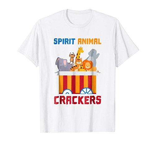Spirit Animal Crackers T-Shirt | Spirit Animal ()