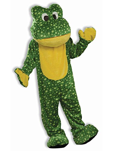 Forum Novelties Deluxe Plush Frog Mascot Adult Costume - One Size