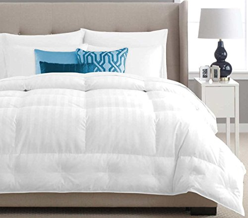 Pacific Coast All Season White Goose Down Comforter 650 Fill Power, Certified Allergy Free and 500 Count 100% Cotton, KING 108''x98'' by Pacific Coast (Image #1)'
