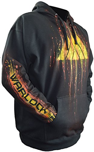 Destiny 2 Hoodie Airbrushed Warlock Gamer Gifts Add Your Gamertag Adult - Destiny Sweatshirt