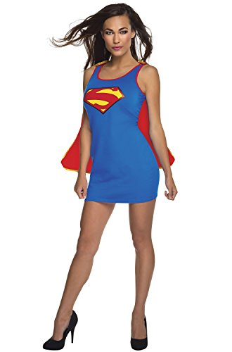 Rubie's Women's DC Superheroes Supergirl New 52 Series Tank Dress, Multi, Medium ()