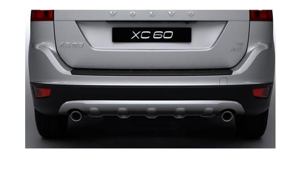 2010 - 2013 Volvo XC60 OEM trasero Skid Plate - escape doble sólo: Amazon.es: Coche y moto