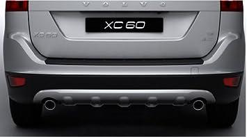 2010 – 2013 Volvo XC60 OEM trasero Skid Plate – escape doble sólo