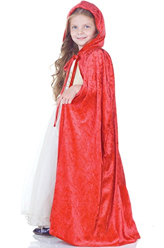 [Little Girls Princess Cape] (Little Red Riding Hood Costumes Child)