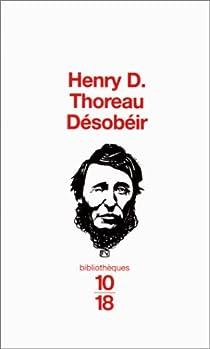 Désobéir par Thoreau