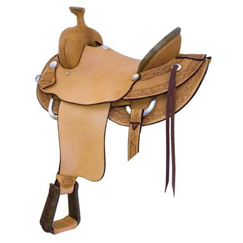 High River Ranch Roper Saddle by Billy Cook Saddlery