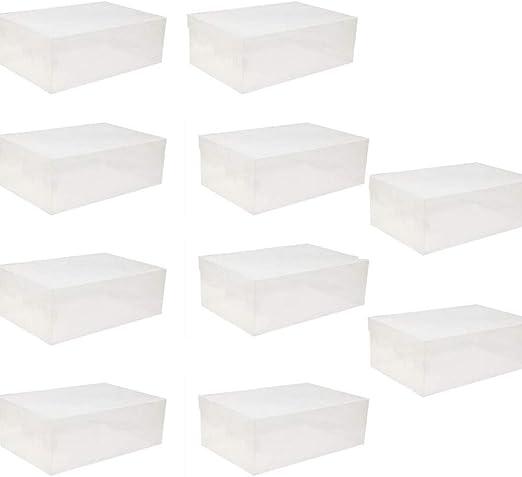 Caja De Almacenamiento De Zapatos, 20 X Caja De Zapatos De ...