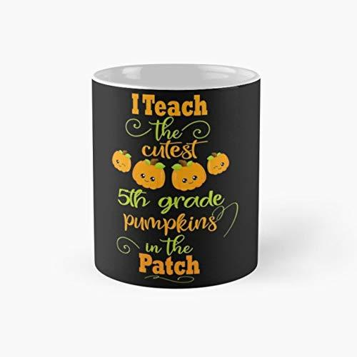 5Th Grade Halloween Teacher Cute Saying 11 Oz Coffee -