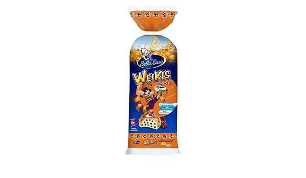 Weikis Chocolate - Paquete de 6 x 42 gr - Total: 252 gr: Amazon.es: Alimentación y bebidas