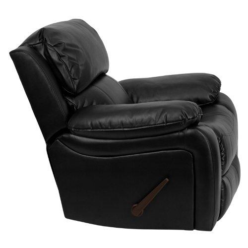 Flash Furniture MEN-DA3439-91-BK-GG Black Leather Rocker Recliner
