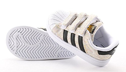 Adidas SUPERSTAR CF I Zapatillas para Niño Blanco