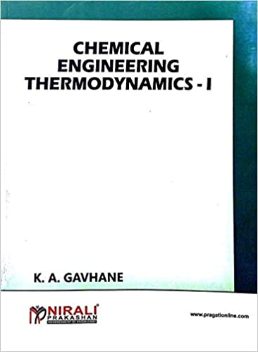 Buy Chemical Engineering Thermodynamics-I Book Online at Low Prices