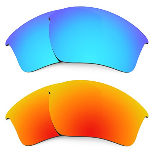 Revant Replacement Lenses for Oakley Half Jacket 2.0 XL 2 Pair Combo Pack K002