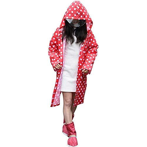 Capucha Battercake Dama Al Plus Pieza Poncho Libre Aire Adulto Impermeable Abrigo Con Una Casual Simple De Rojo Senderismo xzrwgax