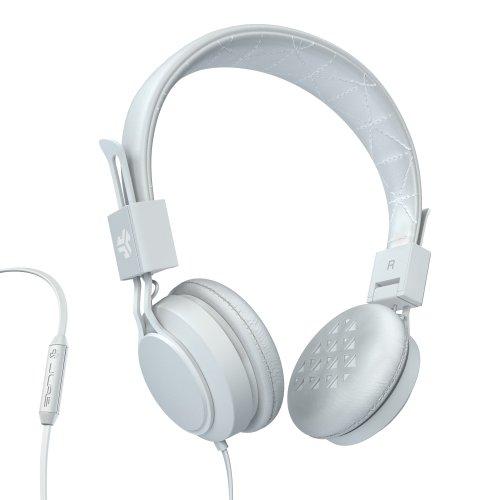 JLab Audio INTRO Premium On-Ear Headphones, with Universal Mic