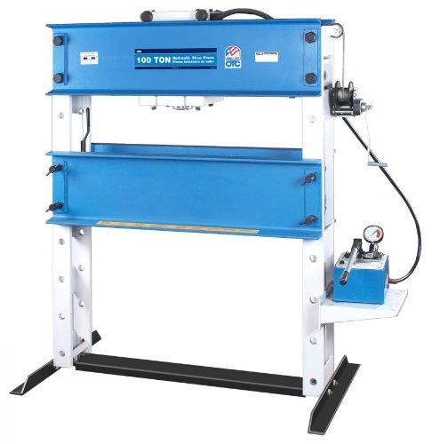 OTC 1857 Heavy-Duty Shop Press - 100 Ton Capacity (Press Shop 100 Ton)