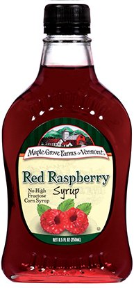 Maple Grove Farms Syrup Natural Raspberry 8.5 OZ