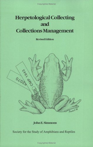 Download Herpetological Collecting and Collections Management ebook