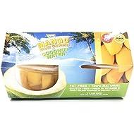 Paradise Green Mango Fruit Chunks Coconut Water 1 Pack, 16 oz