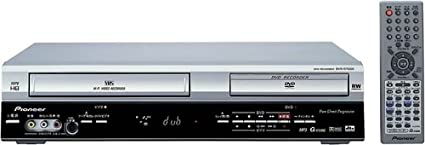 amazon com pioneer dvr rt500s vcr dvd recorder electronics rh amazon com JVC DVD Recorder VCR Combo JVC DVD Recorder VCR Combo