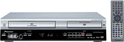 Pioneer DVR-RT500S VCR/DVD