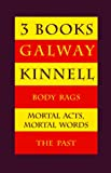 Image of Three Books: Body Rags/ Mortal Acts Mortal Words/The Past
