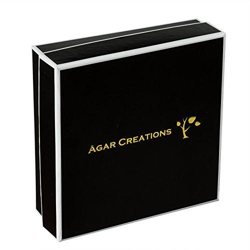 Agar Creations - Tibetan Buddhist Mala Bracelet - Tridacna and Agarwood 52-Bead Bracelet - Spiritual, Meditation by Agar Creations (Image #3)