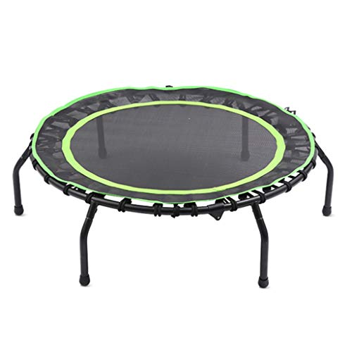(Trampoline Strong Carrying Capacity Prevent Rollover Foot Tube Mute Elastic Rope Bouncing Bed Fitness Equipment Sports Weight Loss Device for Outdoor and Indoor Use)