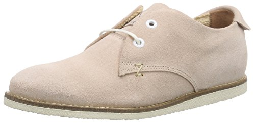 Hub Sneaky T Waxed Suede - Zapatos de cordones derby Mujer Rosa - Pink (soft rose/wht 067)