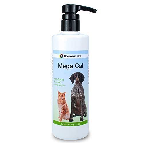 Thomas Laboratory Mega Cal High Calorie Formula, 16 oz, for Dogs and Cats