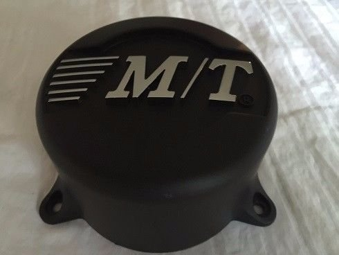 Mickey Thompson Wheel Center Cap NEW CAP-643-2 NEW Flat Black Rim MIddle