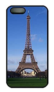 Brian For SamSung Galaxy S5 Phone Case Cover - Fashion Style Eiffel Tower Black PC Hard For SamSung Galaxy S5 Phone Case Cover Kimberly Kurzendoerfer