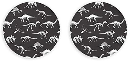 Abrebotellas con silueta de huesos de dinosaurio, 2 piezas, sacacorchos, abridor de botellas, abridor de nevera
