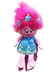 DreamWorks Trolls Poppy 16 inches Plush Backpack for Girls Licensed Product