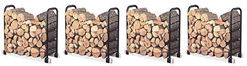 Landmann USA 82424 Adjustable Firewood Rack, Upto 16-Feet Wide (Pack of 4)