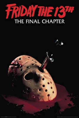 Friday The 13TH Movie Poster The Final Chapter by Hse